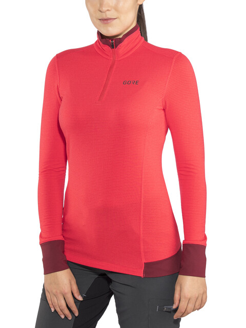 GORE WEAR Light Thermo Shirt Women hibiscus pink